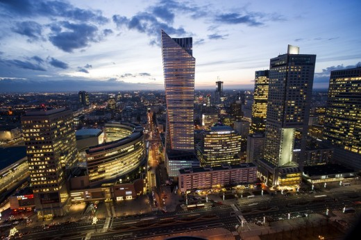 Zlota 44 tower building Warsaw Architecture Tours
