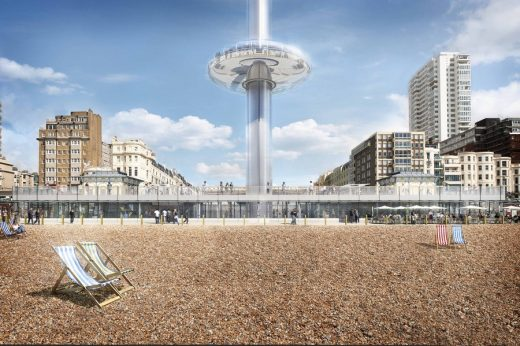 Brighton i360 Construction
