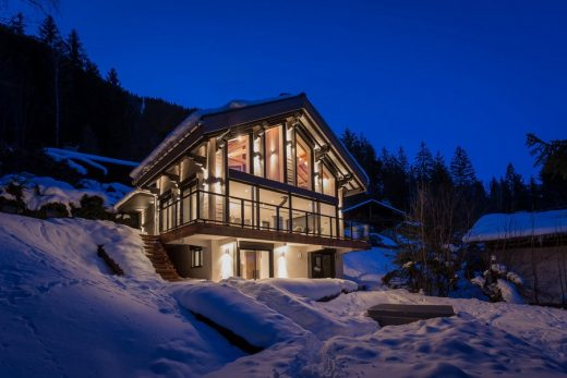 Chalet Dag Architectural Adventures in The French Alps