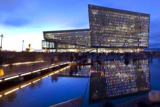 Harpa Concert Hall and Conference Centre Reykjavik Architecture Tours