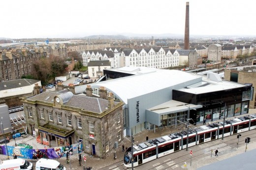 Haymarket Station Building Edinburgh