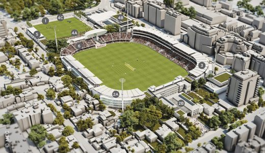 Lord's Cricket Ground Masterplan
