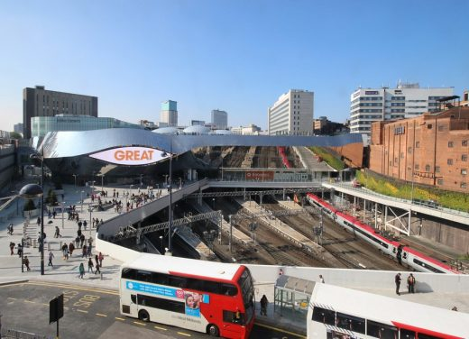 New Street Station Birmingham architecture news