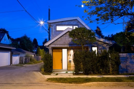 New British Columbia residence in East Vancouver