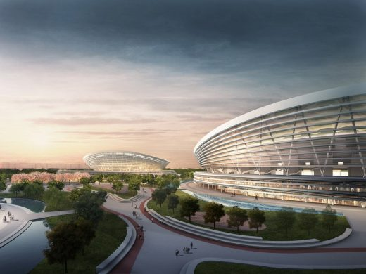 SIP Sports Center Building in China