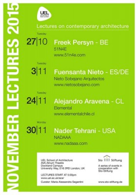 UEL School of Architecture Events