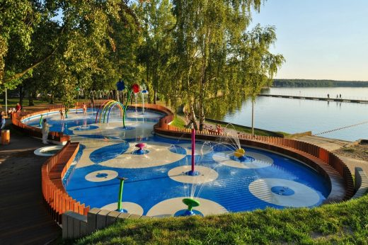Water Playground In Tychy Play Area E Architect