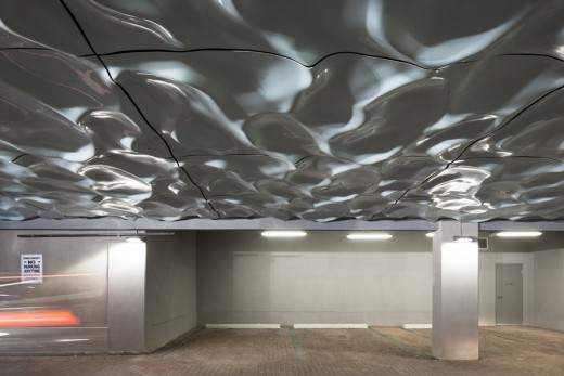 Wavelengths Sculpture Ceiling