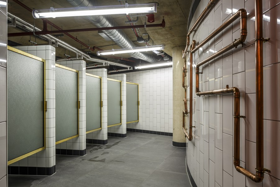 1rebel gym broadgate 8 e architect for Bathroom design jobs london