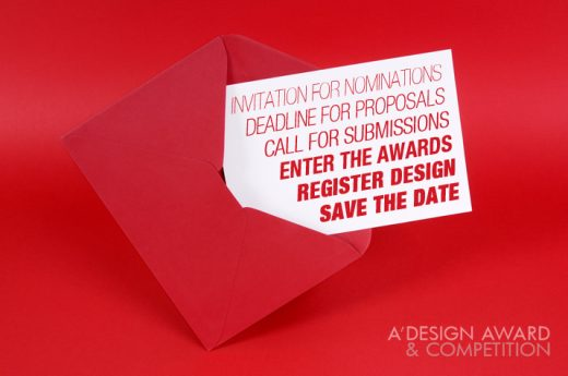 A' Design Awards & Competition – Early Call for Entries 2018