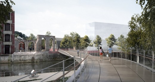 Bath Quays Bridge Design Competition Winner