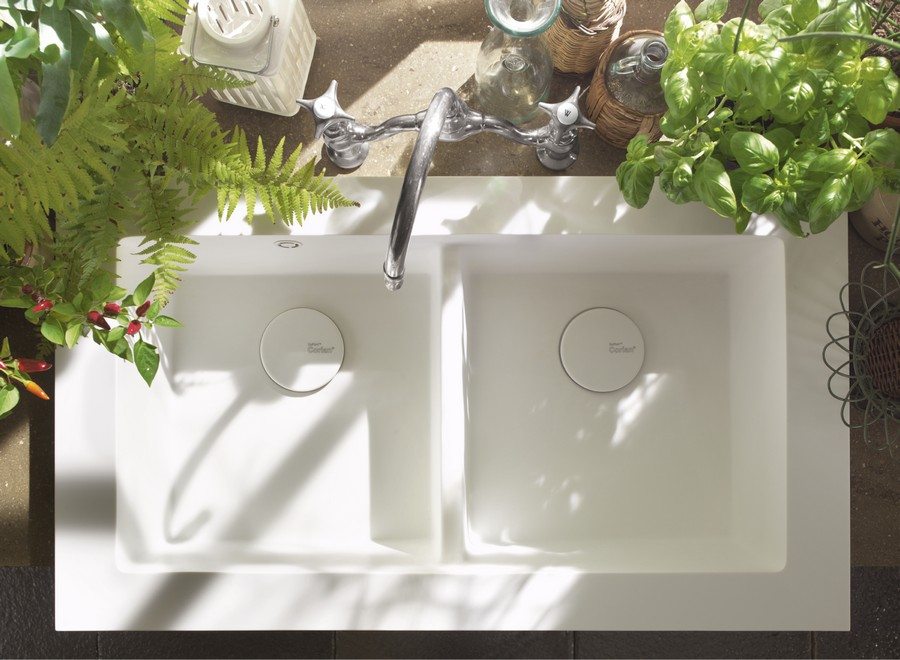 Dupont Corian Ready Made Kitchen Sinks