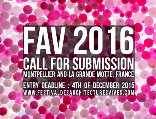 FAV 2016, Festival des Architectures Vives