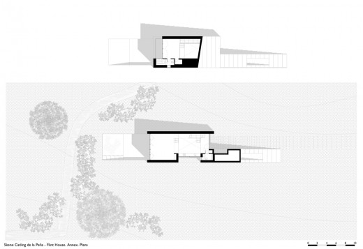 Flint House annex plan