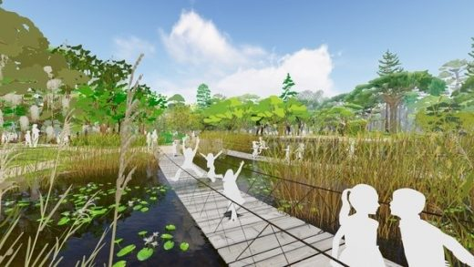 Houston Botanic Gardens design proposal