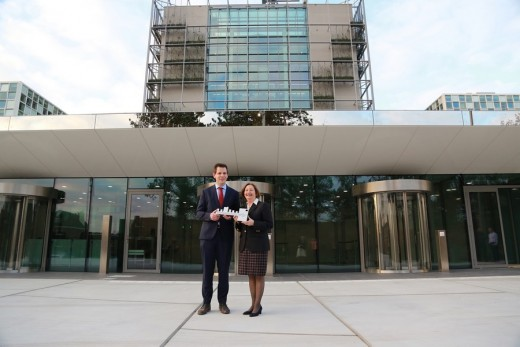 International Criminal Court in the Hague key handover