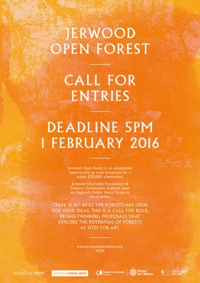 Jerwood Open Forest Design Competition