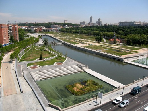Madrid Rio Landscape Design