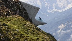Messner Mountain Museum Corones in South Tyrol