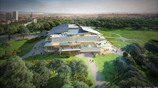 New National Gallery design by SANAA Architects