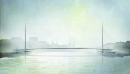 New Nine Elms to Pimlico Bridge winning design