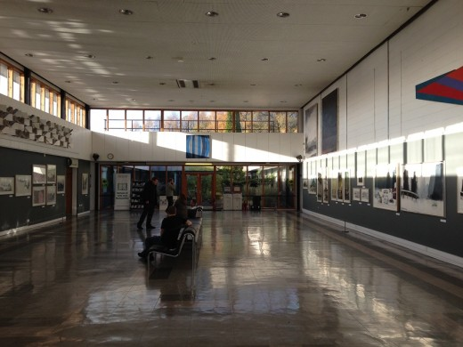 Pathfoot Building at University of Stirling Crush Hall