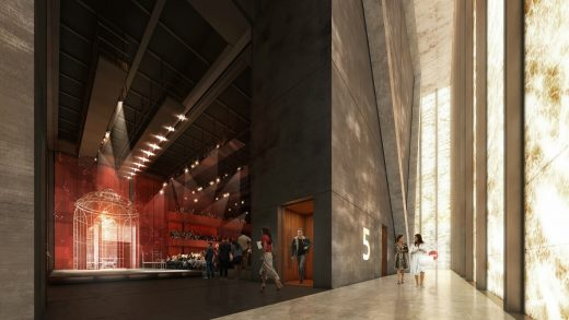 Perelman Performing Arts Center at WTC by REX