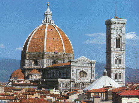 Santa Maria del Fiore cathedral in Florence