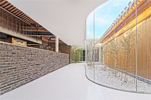 Hutong Tea House design by ARCHSTUDIO architects China
