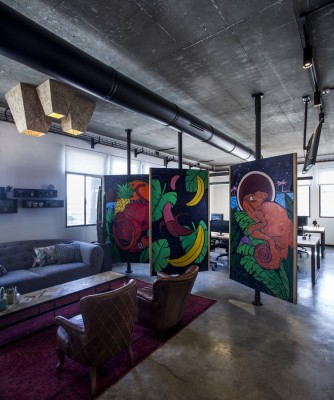 Apester Co-Cycles Offices design by Roy David Studio