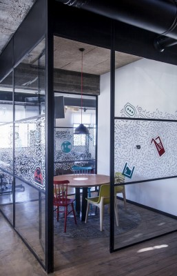 Apester Co-Cycles Offices by Roy David Studio Architects