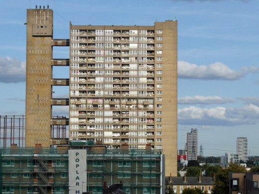 Balfron Tower London by Goldfinger