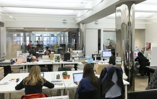 Columbia GSAPP incubator at NEW INC.
