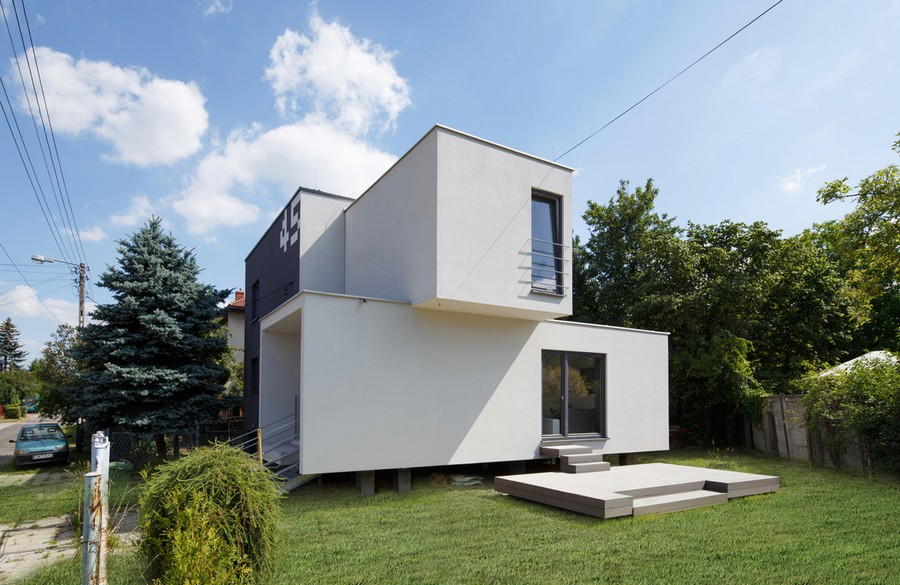 Cube 2 Box House In Myslowice E Architect