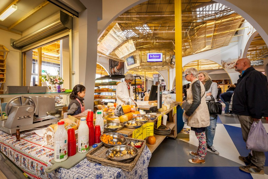 De bazaar mihrab beverwijk indoor market e architect for Product design jobs amsterdam