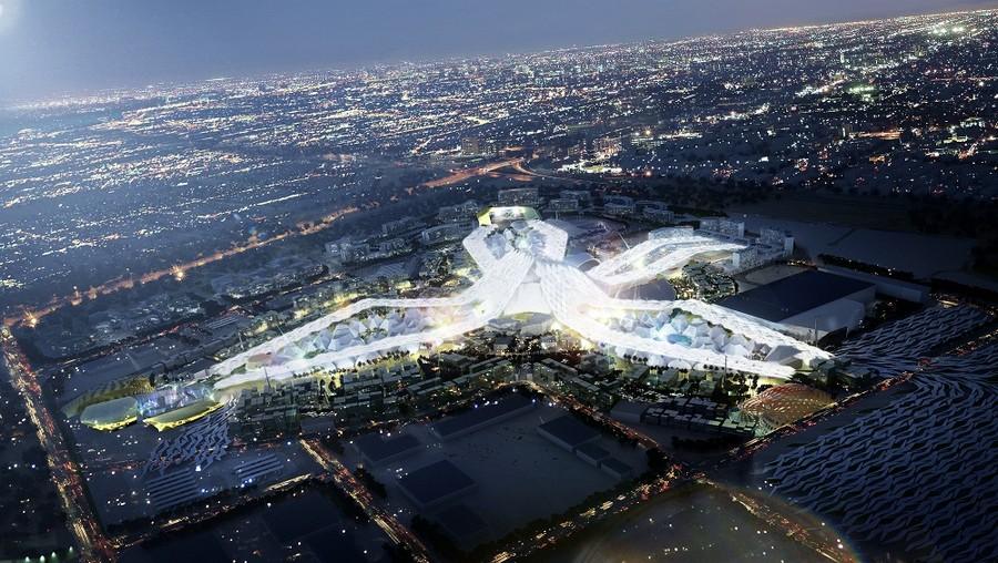Dubai Expo 2020 - Bird's Eye View