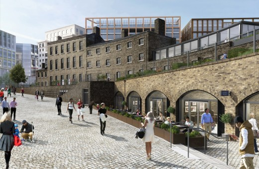 Fish Coal King's Cross arches by David Morley Architects