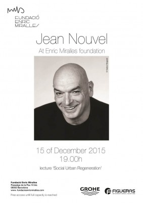 Jean Nouvel architect talk in Barcelona