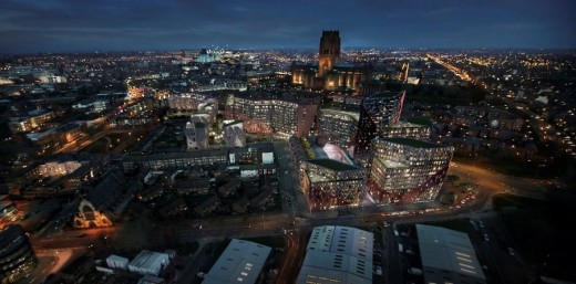 Liverpool Chinatown Redevelopment