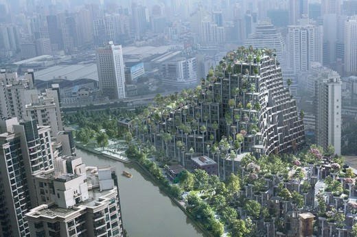 Moganshan Shanghai Art District Buildings by Heatherwick Studio