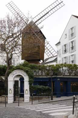 Moulin de la galette in paris e architect - Moulin de la borderie ...