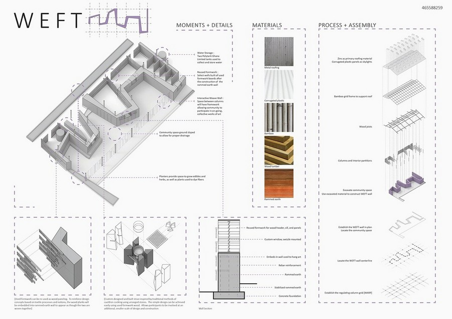 Mud house design competition 3rd prize c2 e architect for Architecture house design competitions