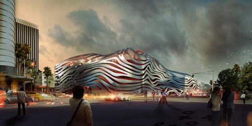 Petersen Automotive Museum Building, Los Angeles
