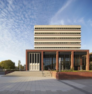 Philip Larkin Library Hull design by Sheppard Robson Architects