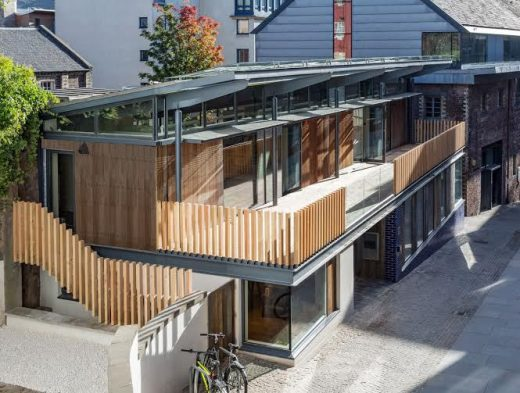 Scottish Poetry Library Extension design by Nicoll Russell Studios