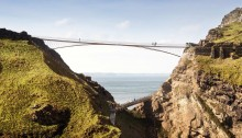Tintagel Castle Bridge Contest Design by Ney & Partners