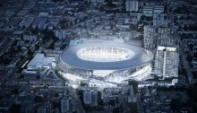 Tottenham Hotspur Stadium London design