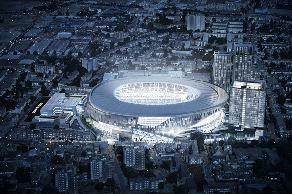 Tottenham Hotspur Stadium London Football Club E Architect