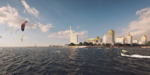Vasilievsky Island competition St. Petersburg