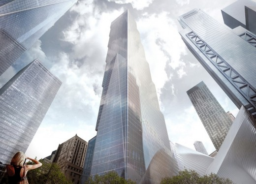 2 WTC New York by Bjarke Ingels